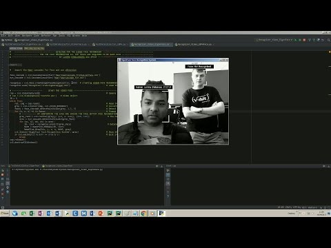 Face Detection and Face Recognition by Different Algorithms Using Python & OpenCV