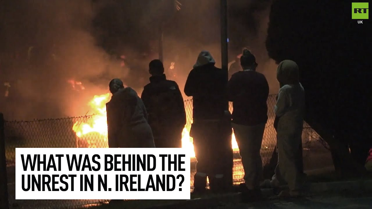 What caused the weekend clashes in Northern Ireland?