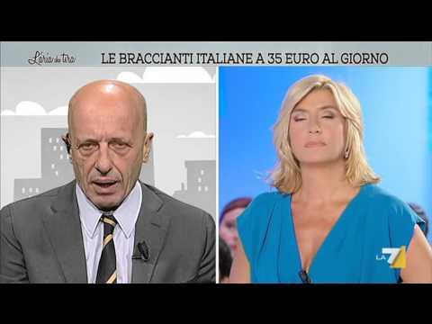 L'aria che tira - Le braccianti italiane a 35 euro al giorno (Puntata 02/05/2016)