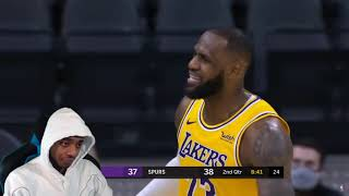 FlightReacts LAKERS at SPURS | FULL GAME HIGHLIGHTS | January 1, 2021!