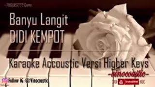 Download lagu Didi Kempot Banyu Langit Karaoke Akustik Versi Higher Keys MP3