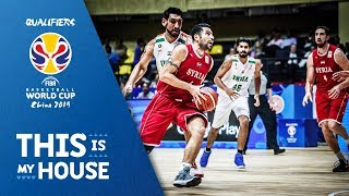 India v Syria - Highlights - FIBA Basketball World Cup 2019 - Asian Qualifiers