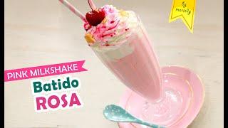 Download lagu 🍨 PINK MILKSHAKE 💗 BATIDO ROSA by Marielly