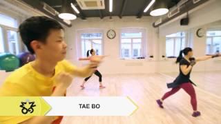 Видео о занятии Тайбо в фитнес клубе Манго