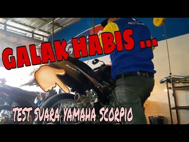 Test suara yamaha scorpio knalpot HNR ...