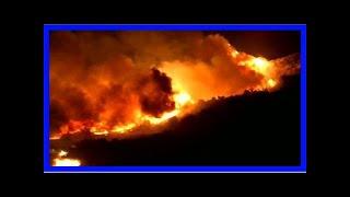 Hundratals hem förstörda i skogsbrand i kalifornien