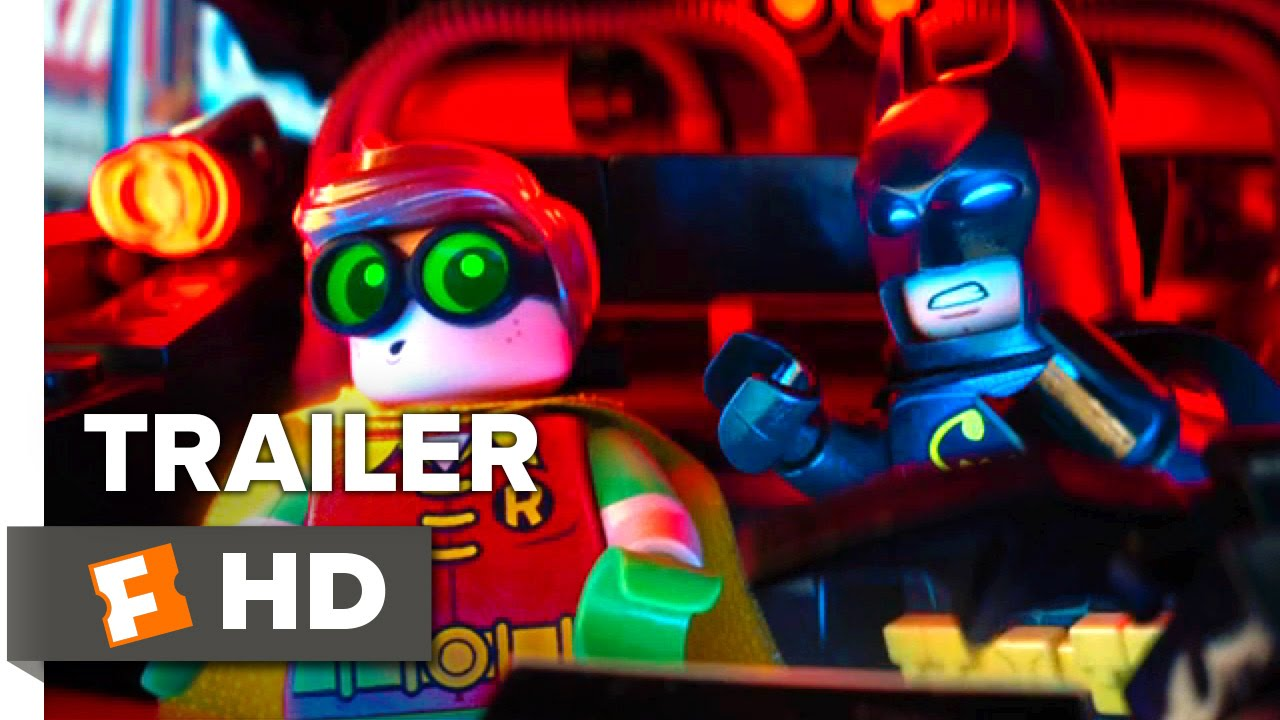 The LEGO Batman Movie Official Comic-Con Trailer (2016) - Will Arnett Movie