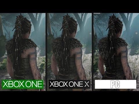HellBlade | Xbox One X Vs PC Vs Xbox One | Graphics Comparison