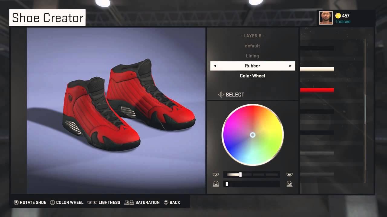 size 40 ff134 3302c ... low cost nba 2k15 footlocker shoe creator jordan retro 14 ferraris  youtube ce180 16aa1