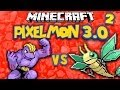 Machoke v Vibrava ★ MINECRAFT PIXELMON 3.0 ★ Ep.2 (Pokemon)