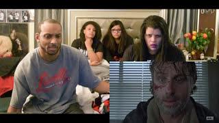 The Walking Dead S7 E1 - REACTION!!! FULL VERSION PART 1