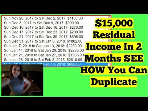 Best Residual Income Online 2018 - REALISTIC $100 A Day Online - Power Lead System Review 2018 PROOF