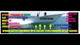 fish shaped boat-super Yacht design no pounding Build 6m to 140m