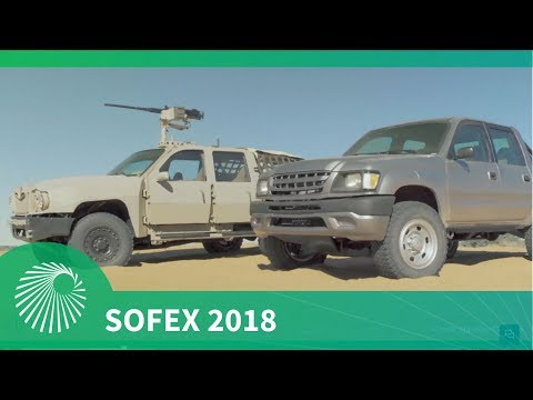 SOFEX 2018: Navistar Defense Special Operations Tactical Vehicle  (SOTV)