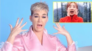 "KATY PERRY REACTS TO TWICE - ""What Is Love?"""