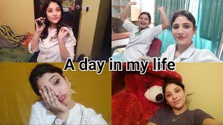 Vlog: A day in my life || sarojni shopping , job, bhagam bhag life😂||