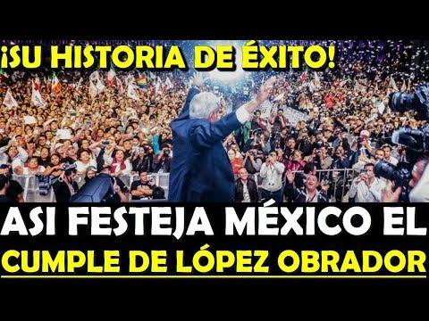 CUMPLE DE AMLO ¡ASI REVIENTAN LAS REDES SOCIALES! SU HISTORIA DE EXITO - ESTADISTICA POLITICA