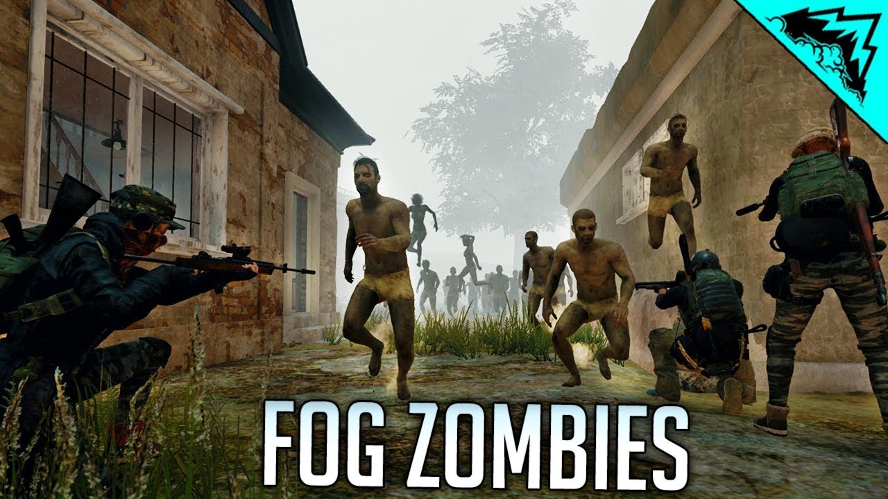 Pubg Fog Zombies Are Impossible Battlegrounds Highlights And Funny