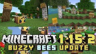 Minecraft 1.15.2 – Nuevas gamerules, colmenas naturales renovables y resolución de bugs