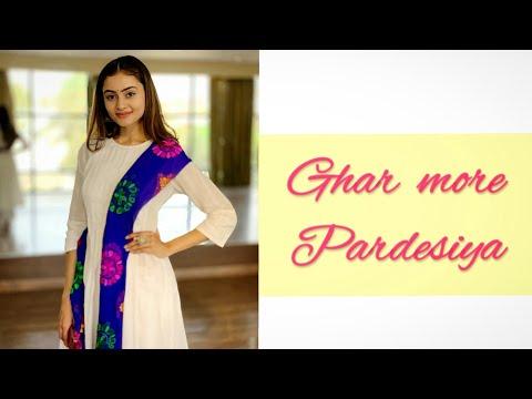 Ghar more pardesiya : Bolly-Classical Choreography ft Janki BodiwalaKalankAlia BhattVarun Dhawan
