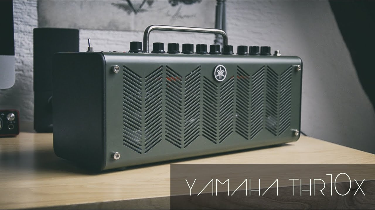 Yamaha thr10x practice amp review demo youtube for Yamaha thr10x review