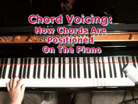 Piano piano chords voicing : Chord Voicing: How To Position A Chord On The Piano Keyboard - YouTube