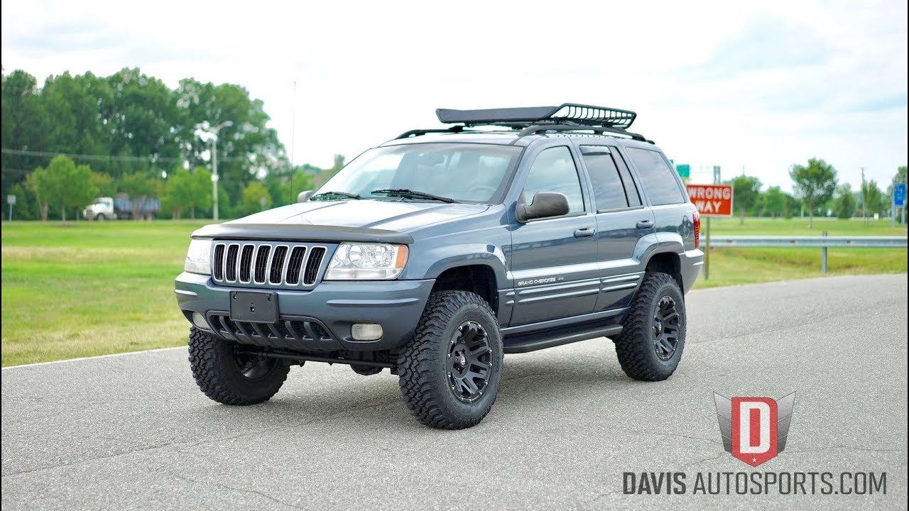 davis autosports jeep grand cherokee wj lifted for sale. Black Bedroom Furniture Sets. Home Design Ideas