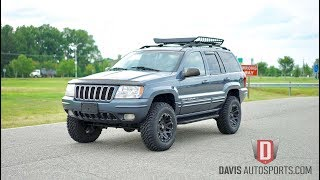 Davis AutoSports JEEP GRAND CHEROKEE WJ LIFTED FOR SALE 47K MILES
