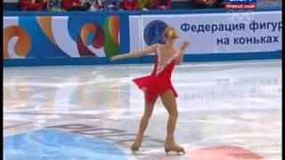 Serafima SAKHANOVICH 2014 SP Russian Nationals