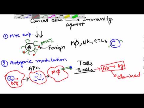 Cancer immunology (how cancer cells elude immune system)
