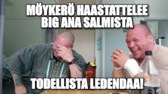 Möykerö haastattelee Big Ana Salmista! (10.06.2018)