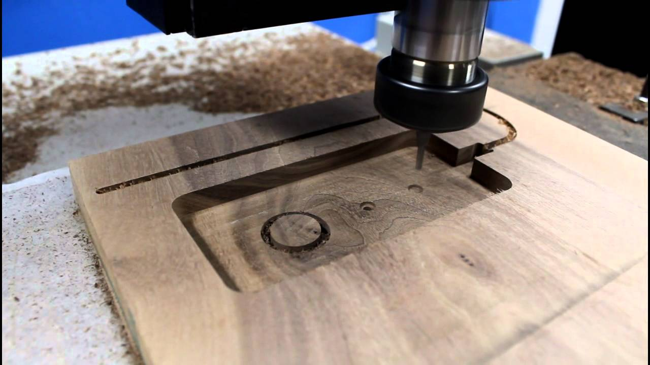 1624r Cnc Router Making An Iphone Wood Docking Station
