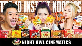 FOOD KING: TOP 10 BEST INSTANT NOODLES!