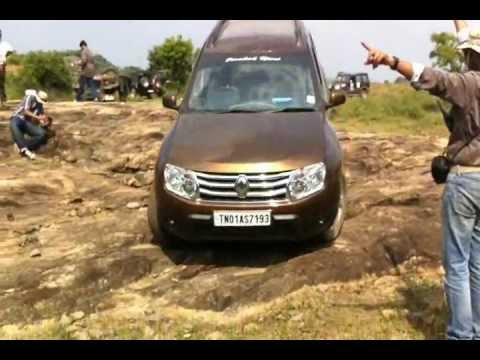 renault duster off road rock youtube. Black Bedroom Furniture Sets. Home Design Ideas
