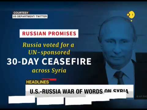 WION Headlines: US-Russia war of words on Syria