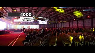 4.000 Guests Huge Retail Meeting - NEST Congress & Exhibition Center