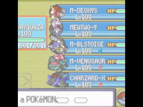 Pokemon Mega Emerald X And Y Download Link And Mega Stone Cheat Code