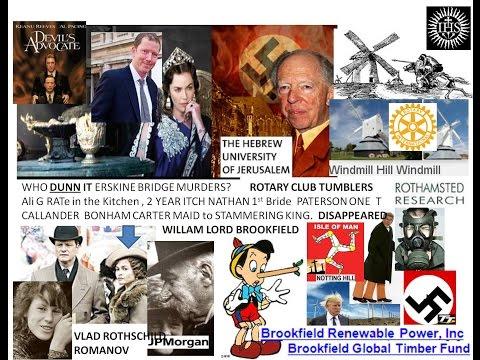 JP Morgan Liars pi NOSE B Jesus Inn Swastika W Mill Hill Hannah Rothschild & her siss Devils daughte