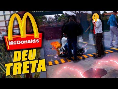 KART DE DRIFT NO DRIVE THRU DO MC DONALDS ! ( DEU TRETA )