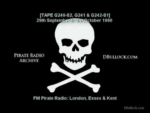 [G240-G241-G242] FM Pirate Radio ~ 30/09-01/10/1990 ~ London