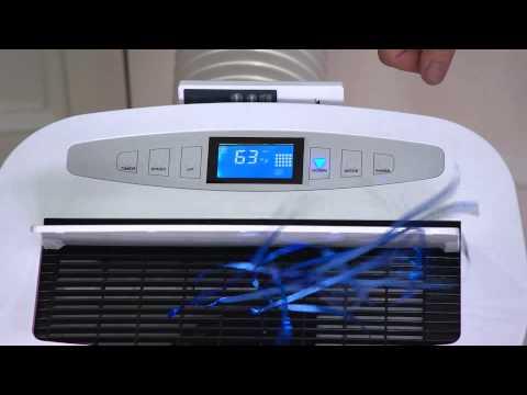 Global Air 12,500 BTU Portable Air Conditioner w/LCD Display with Dan Hughes