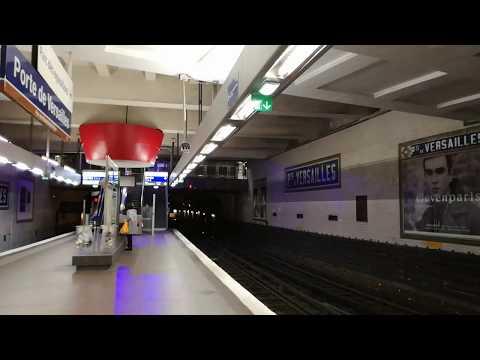 Arrivée du MF67 3 040 à Porte de Versailles