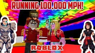 Roblox: SPEED RUN! A GAJILLION MILES PER HOUR
