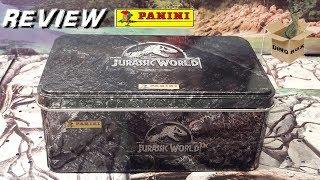 Présentation Boîte Métal Collector Jurassic World Fallen Kingdom PANINI