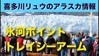 アラスカ氷河クルーズ〜トレイシーアーム(オーシャニア・クルーズ)