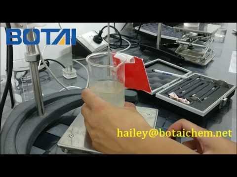 Test HPMC(hydroxypropyl Methyl Cellulose) viscosity -- hailey@botaichem.net