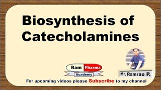 Biosynthesis of Dopamine, Noradrenaline & Adrenaline made easy (Pharmacology)