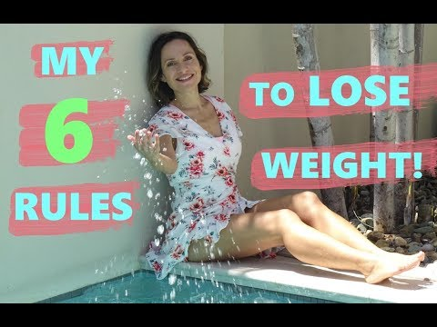 6 SIMPLE RULES TO LOSE WEIGHT FAST: These Really Work! Fit Over 50