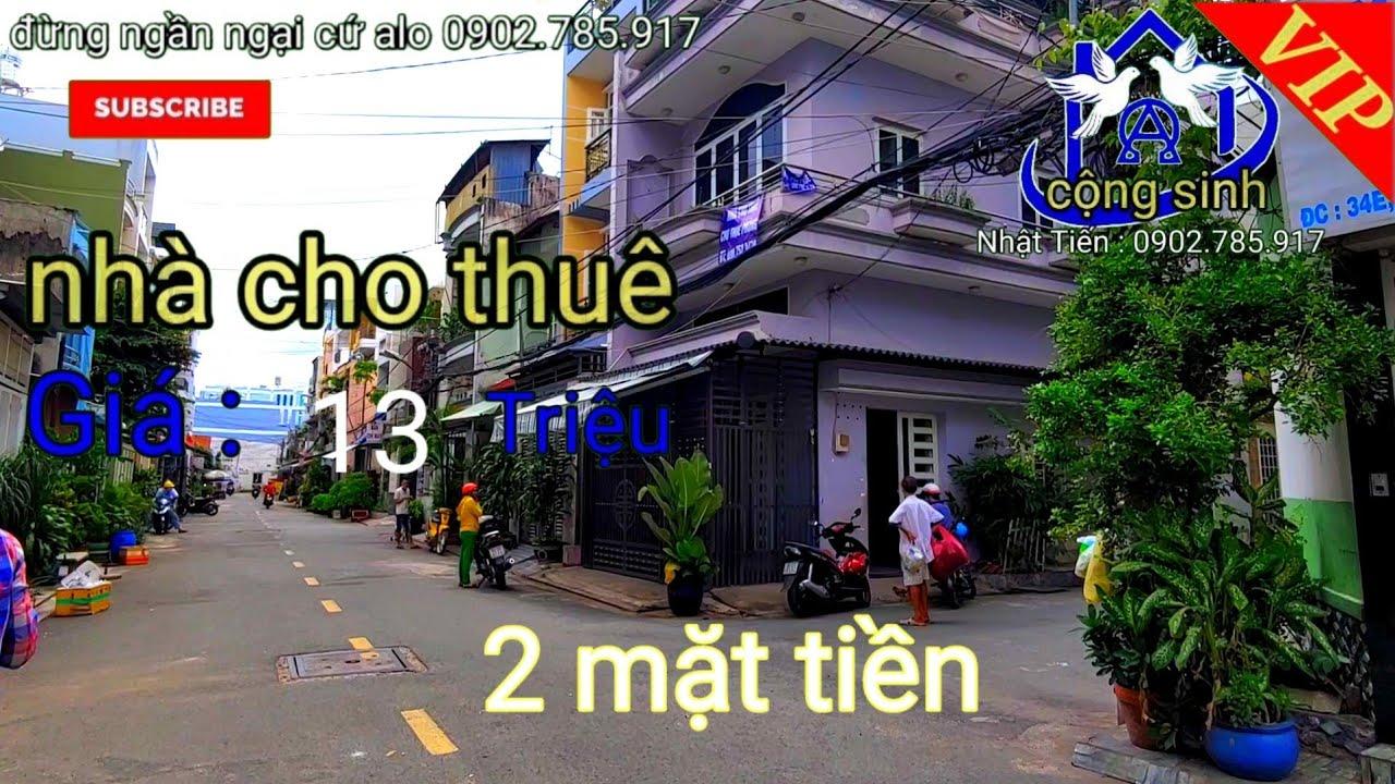 image Cho thuê nhà Bình Tân - giá rẻ 12 triệu 2 mặt tiền. Đường Số Lê Văn Quới / Cộng Sinh Land