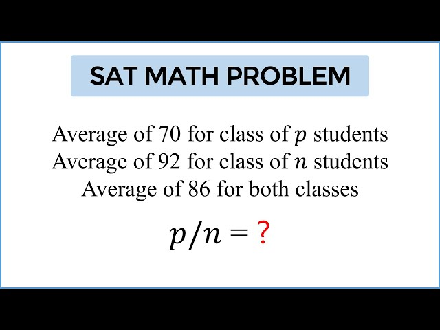 Can you solve the 'meanest' SAT math question? - INSIDER